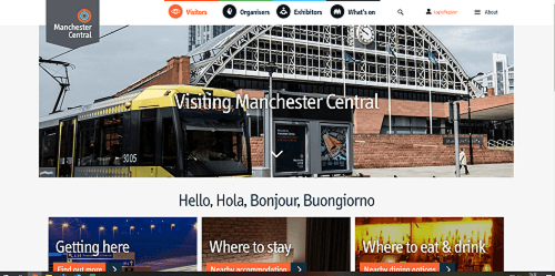 Planning your visit to Manchester Central